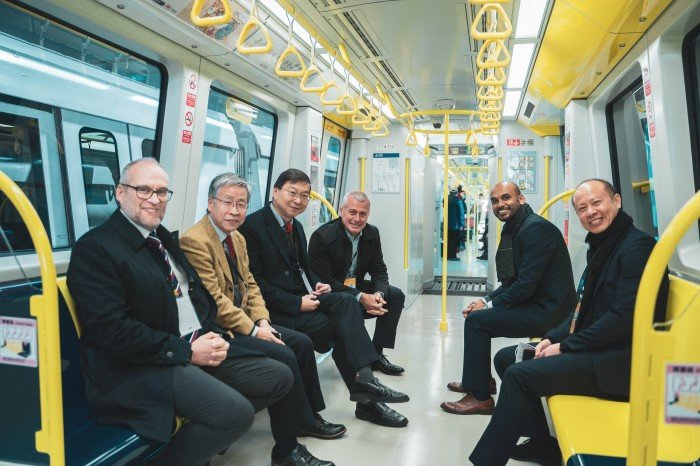 HITACHI RAIL SUCCESFULLY COMMISSIONS TAIPEI CIRCULAR LINE PHASE 1 DRIVERLESS METRO