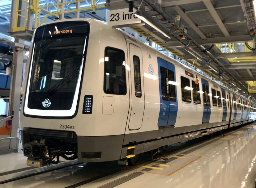 Bombardier delivers first MOVIA C30 metros in Sweden