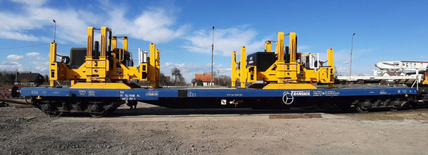 PWP the latest generation of GEISMAR track laying gantries, which has won acclaim in Central Europe